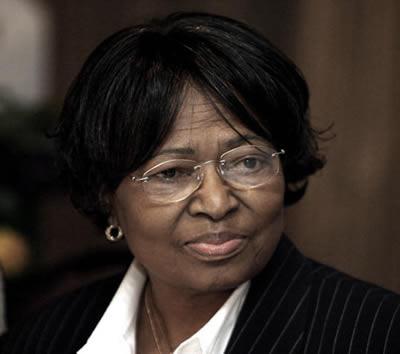 Dr. Mantombazana 'Manto' Edmie Tshabalala-Msimang